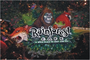 Rainforest Café - Las Vegas